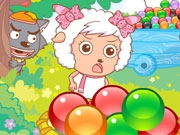 Play Pleasant Goat Bubble Shooter