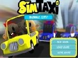 Play Sim taxi bubble city