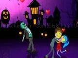Play Halloween zombie kiss now