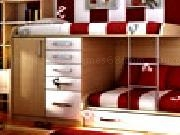 Play Kids red bedroom hidden alphabets