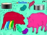 Play Pig coloring