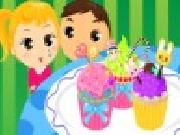 Play Kids sweet colorful cupcake