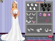 Öltöztetsd fel Barbit esküvői ruhába