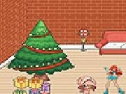 Play Christmas room decoration now