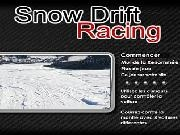 Rallye des neiges (snow drift racing)