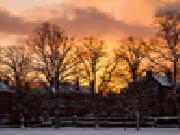 Play Jigsaw: sunset in winter now