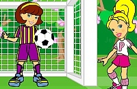 Play Plly pocket soccer game now