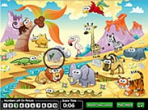 Play Hidden numbers zoo