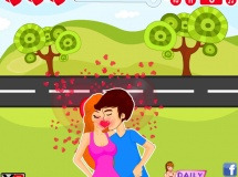 Play Roadside fun kissing now