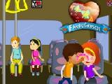 Play Kids bus kissing now