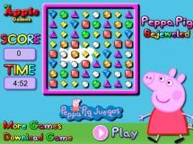 Peppa drágakő gyűjtő - Kicsiknek, gyerekeknek való ingyen online játékok