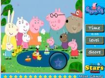 Peppa malac rejtett csillagkereső - Kicsiknek, gyerekeknek való ingyen online játékok