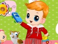 Play My cute baby