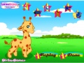 Play Cute giraffe dress up