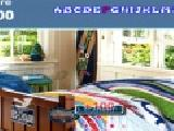 Play Kids modern bedroom hidden alphabets