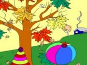 Play Kids coloring: autumn 2