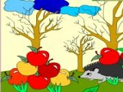 Play Kids coloring: delicious lunch