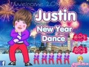 Play Justin new year dance now