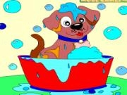 Play Kids coloring: charming puppy