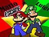 Play Mario and luigi escape