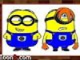 Play Minions kids coloring