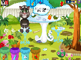 Play Baby tom garden cleaning now