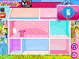 Play Princess pets doll house now
