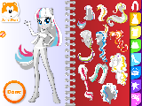 Play Equestria girls fashion design sketchbook