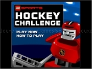 Play Lego hockey challenge now