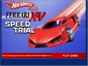 Hotwheels ferrari 15 speed trial
