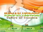 Indian heroes - Color of freedom