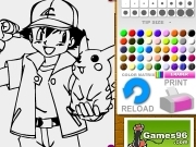 Pokemon and friend coloring