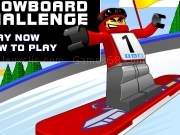 Play Lego snowboard challenge