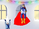 Super hero christmas time