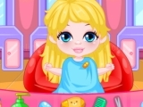 Play Baby Barbie Hairdresser