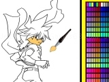 Beyblade online coloring