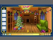 Play Knf Winter Wooden House Escape