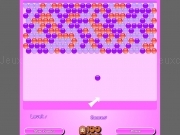 Play Pink bubble shooter