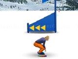 Play Snowbord slalom now