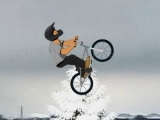 Play Faire du BMX en hiver now
