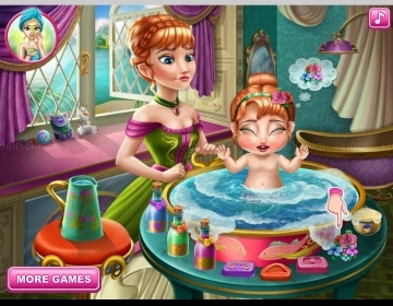 Play Anna's baby wash