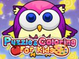 Play Puzzle coloring for kids
