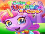 Play Cute unicorn care now