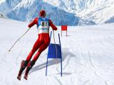 Play Slalom ski simulator now