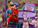 Play Dotted girl valentine dinner now