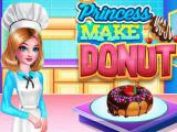 Play Princess make donut now