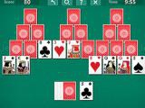 Play Tri peaks solitaire now