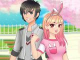 Play Romantic anime couples dress up now
