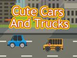Play Cute cars and trucks match 3