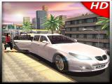 Play Luxury limousine car taxi driver: city limo games